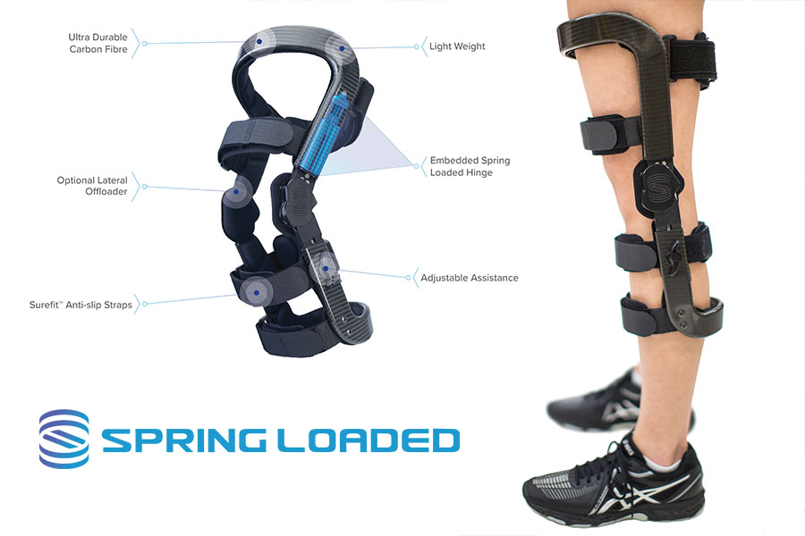 Levitation is the world's first powerful bionic knee extension assist brace